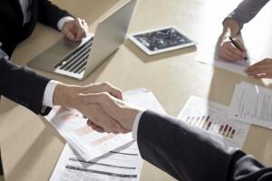 中小企業から直接仕事を受注する